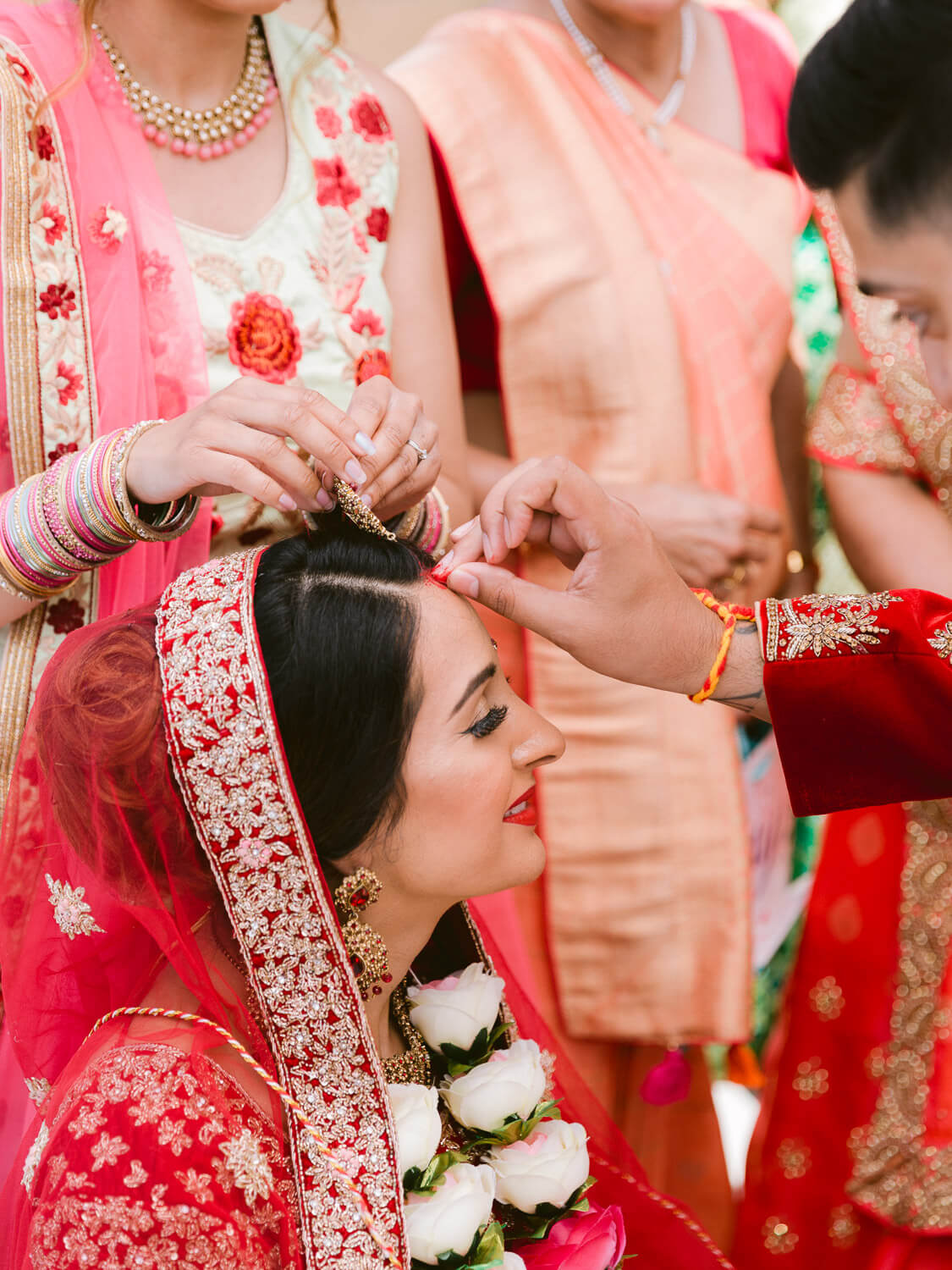 Hindu wedding ceremony detail by Portugal Wedding Photographer