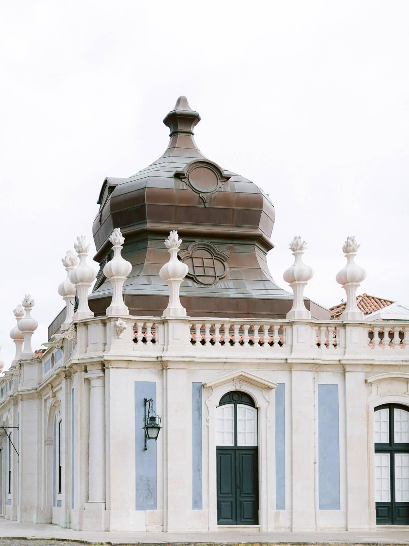 Palacio de Queluz architectural detail by Portugal Wedding Photographer