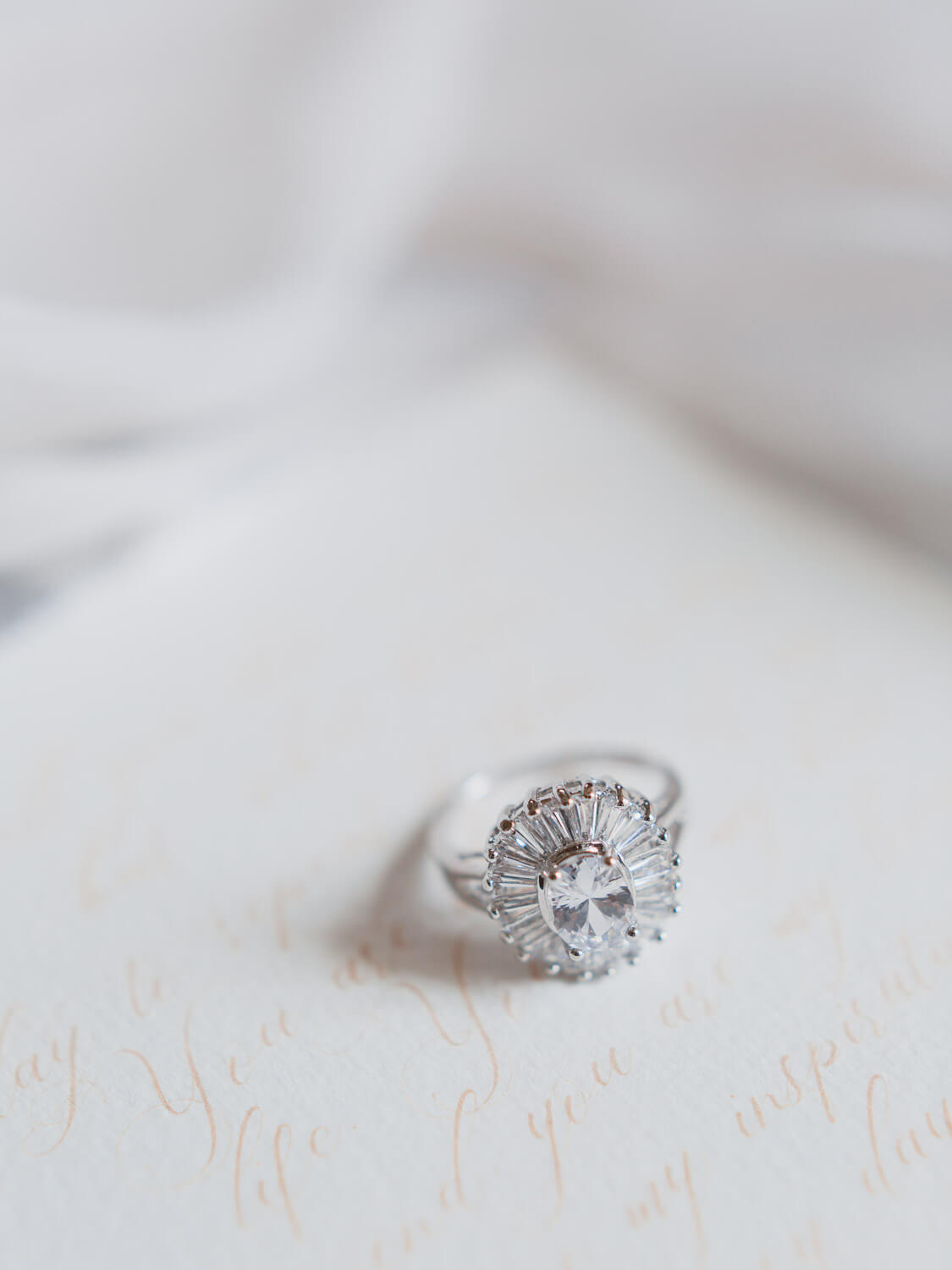 diamond engagement ring wedding editorial photographed by Portugal Wedding Photographer