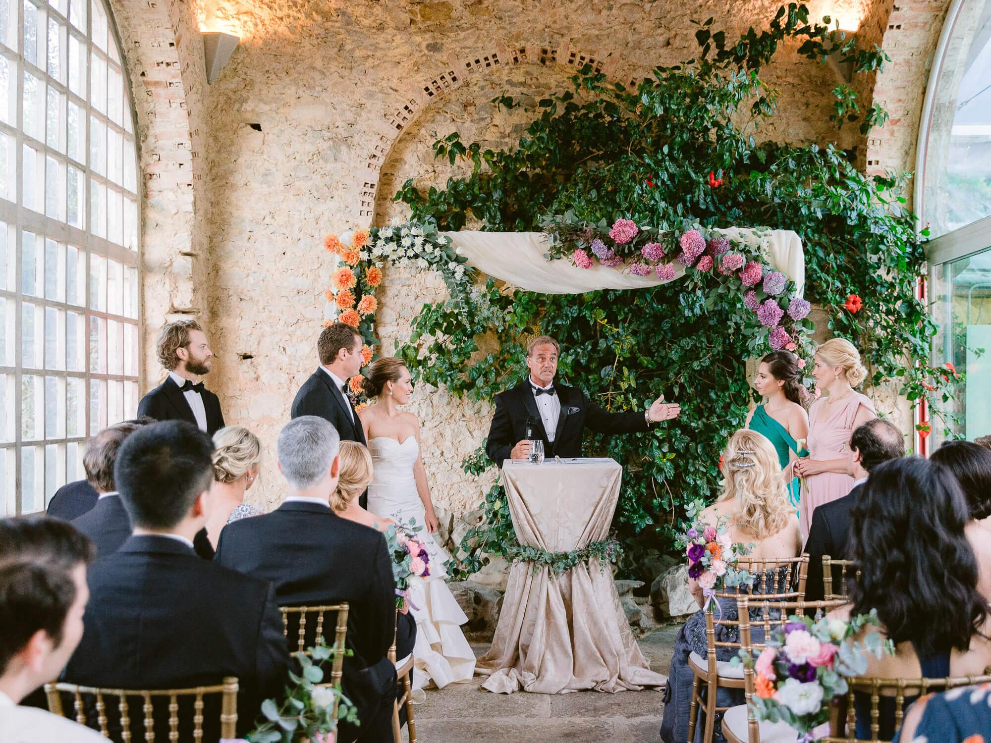 wedding ceremony in Forte da Cruz by Portugal Wedding Photographer