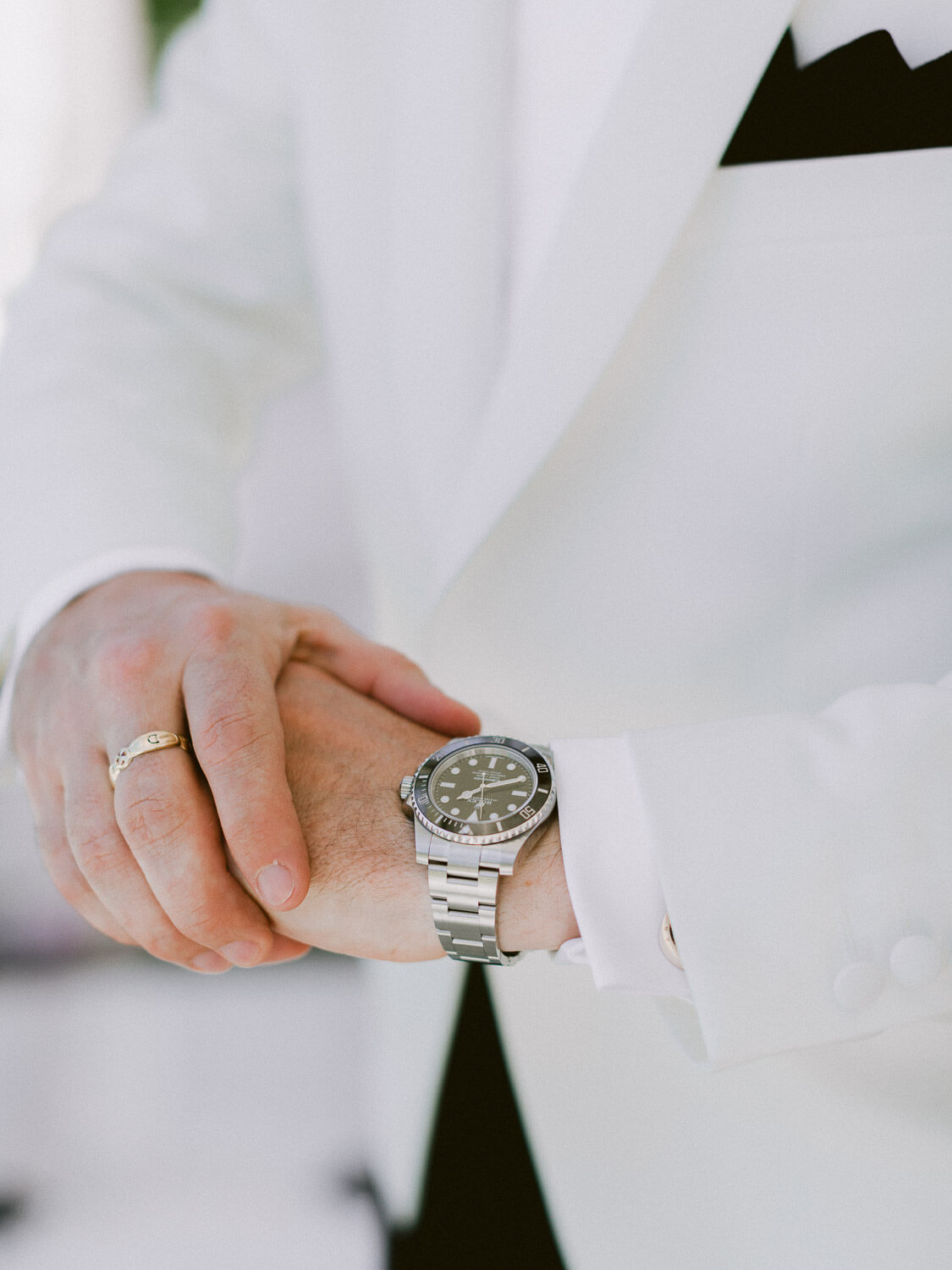 luxury groom's accessories by Portugal Wedding Photographer