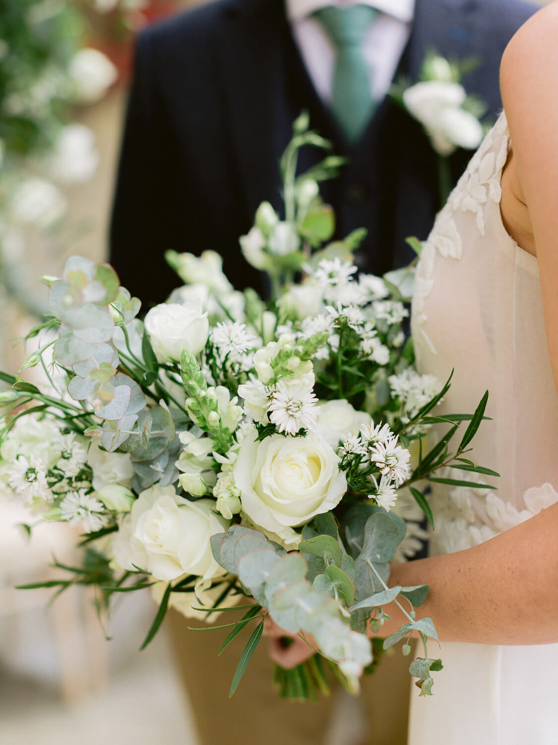 bridal bouquet close up in My Vintage Wedding Sintra by Portugal Wedding Photographer