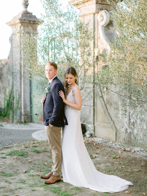 classic beauty wedding portrait by Portugal Wedding Photographer
