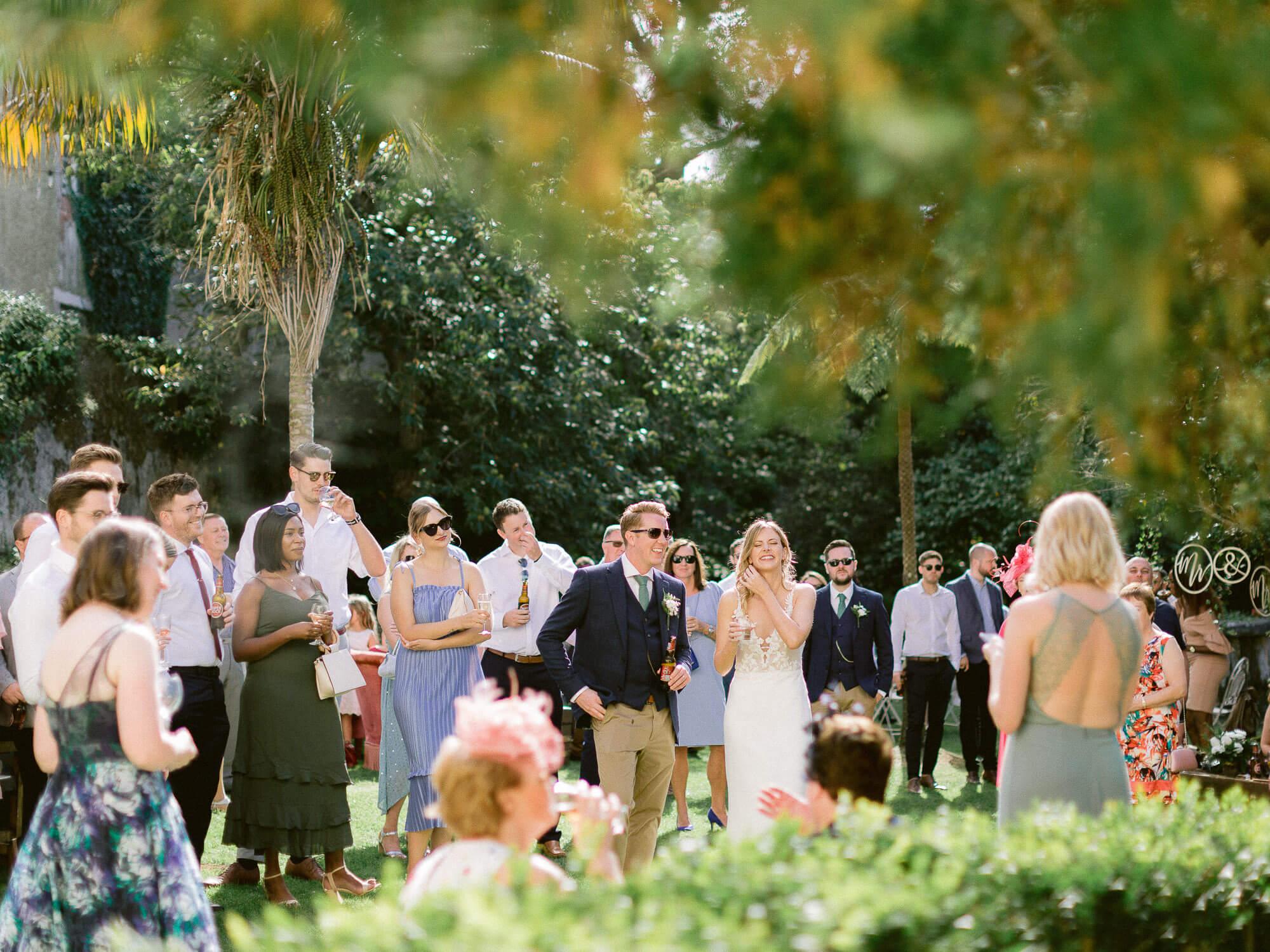 heartfelt wedding cocktail speech by Portugal Wedding Photographer