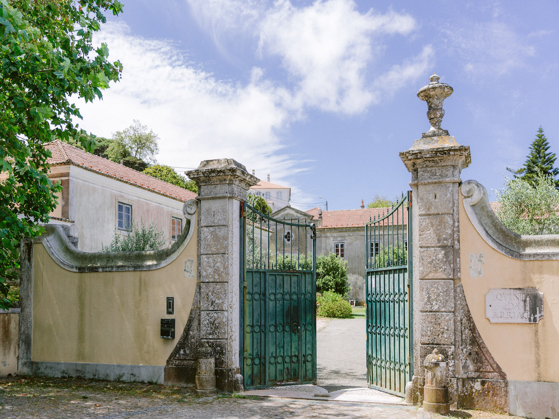 My Vintage Wedding Sintra venue entrance by Portugal Wedding Photographer