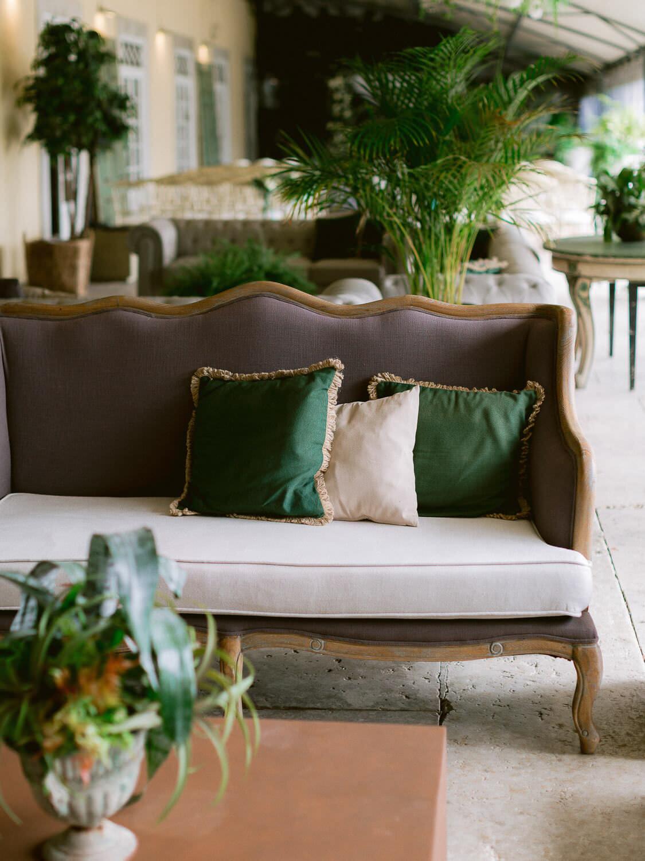 wedding ceremony lounge area by Portugal Wedding Photographer