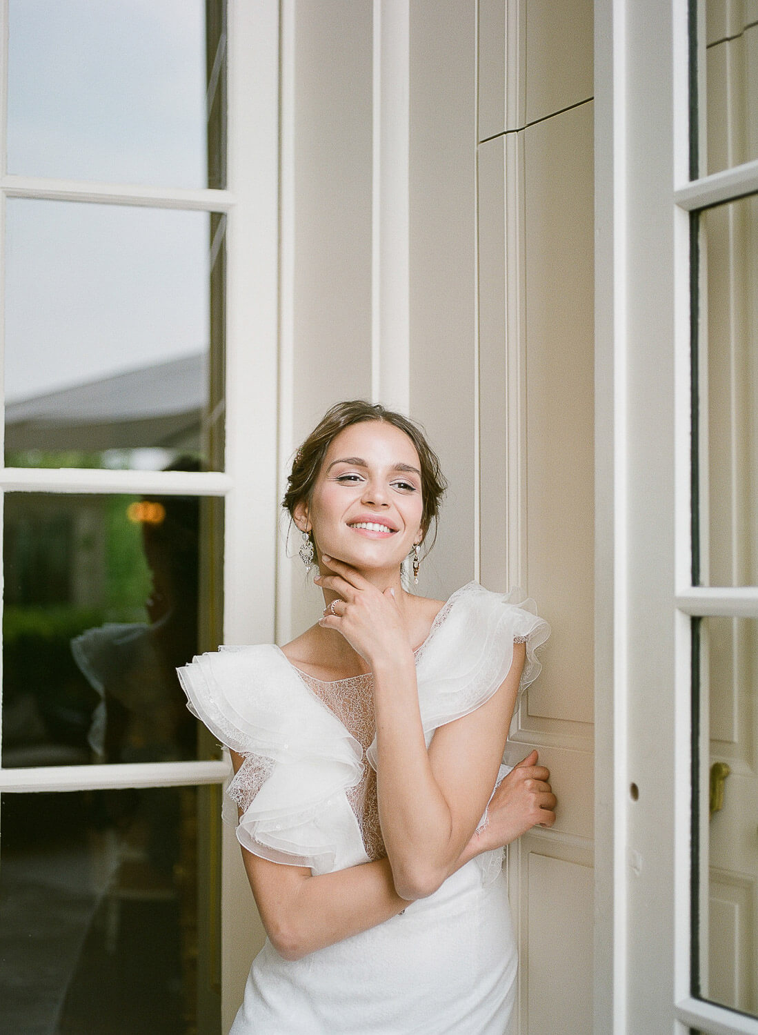 happy bride portrait by Portugal Wedding Photographer