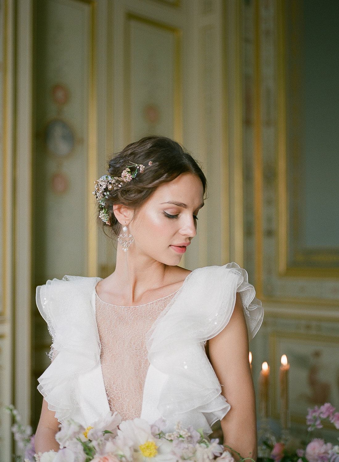 Beautiful Bridal portrait at Greg Finck Workshop by Portugal Wedding Photographer