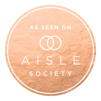 As seen on Aisle Society badge for Portugal Wedding Photographer