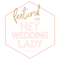 Featured on Hey Wedding Lady Badge for Portugal Wedding Photographer