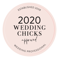 Approved by Wedding Chicks 2020 Badge for Portugal Wedding Photographer