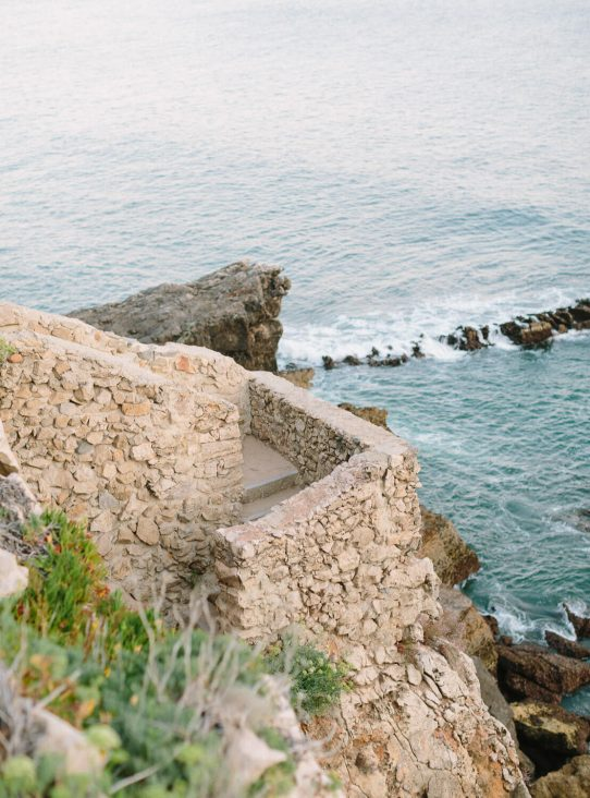 ocean viewpoint in Cascais by Portugal Wedding Photographer