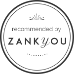 Recommended by Zankyou badge for Portugal Wedding Photographer