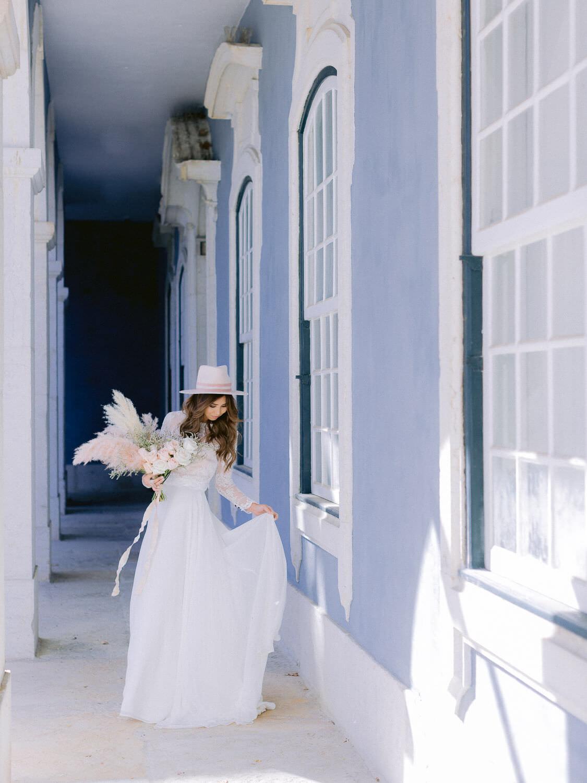 Bridal inspiration photo at Palacio Queluz